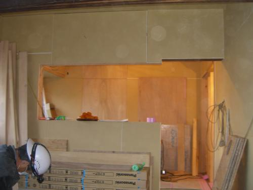 システムキッチンの取り付け工事