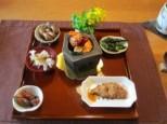 絹道の料理