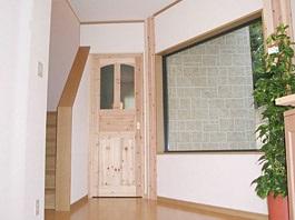 木の香りに包まれたコーナー和室のある家12