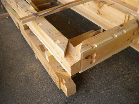 木材の刻み加工2