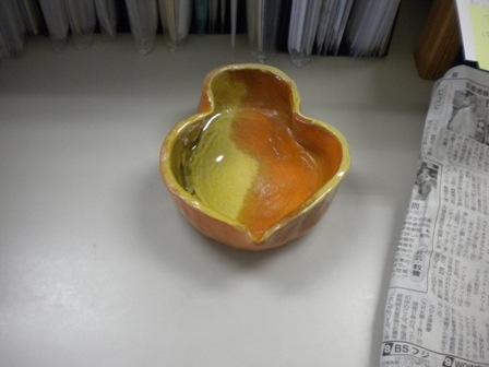 土井作:枝豆皿