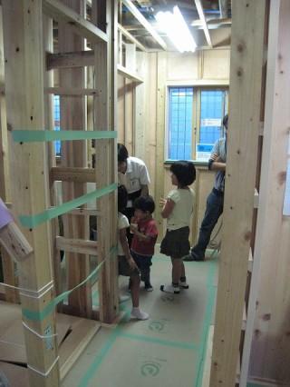 O様邸 新築 構造見学会5